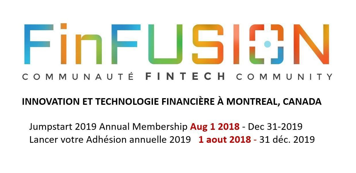 FinFusion Devenez membre 2019 / Jumpstart FinFusion membership 2019