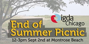 IGDA Chicago's End of Summer Picnic 2018