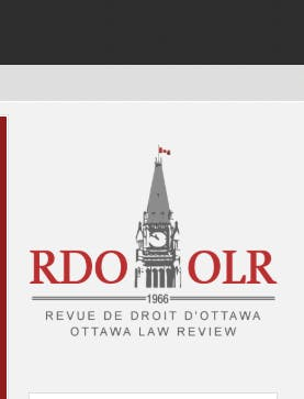 Ottawa Law Review Annual Dinner 2018