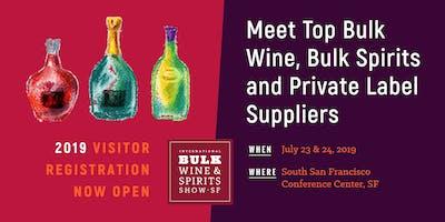 2019 International Bulk Wine and Spirits Show (Visitor Registration)
