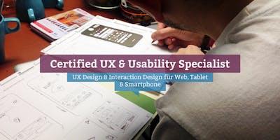 Certified UX & Usability Specialist, Frankfurt