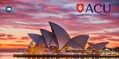 PARIS : Les études en Australie (avec la participation d'Australian Catholic University)