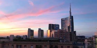 LAST SUMMERTIME WINE VERNISSAGE su rooftop panoramico