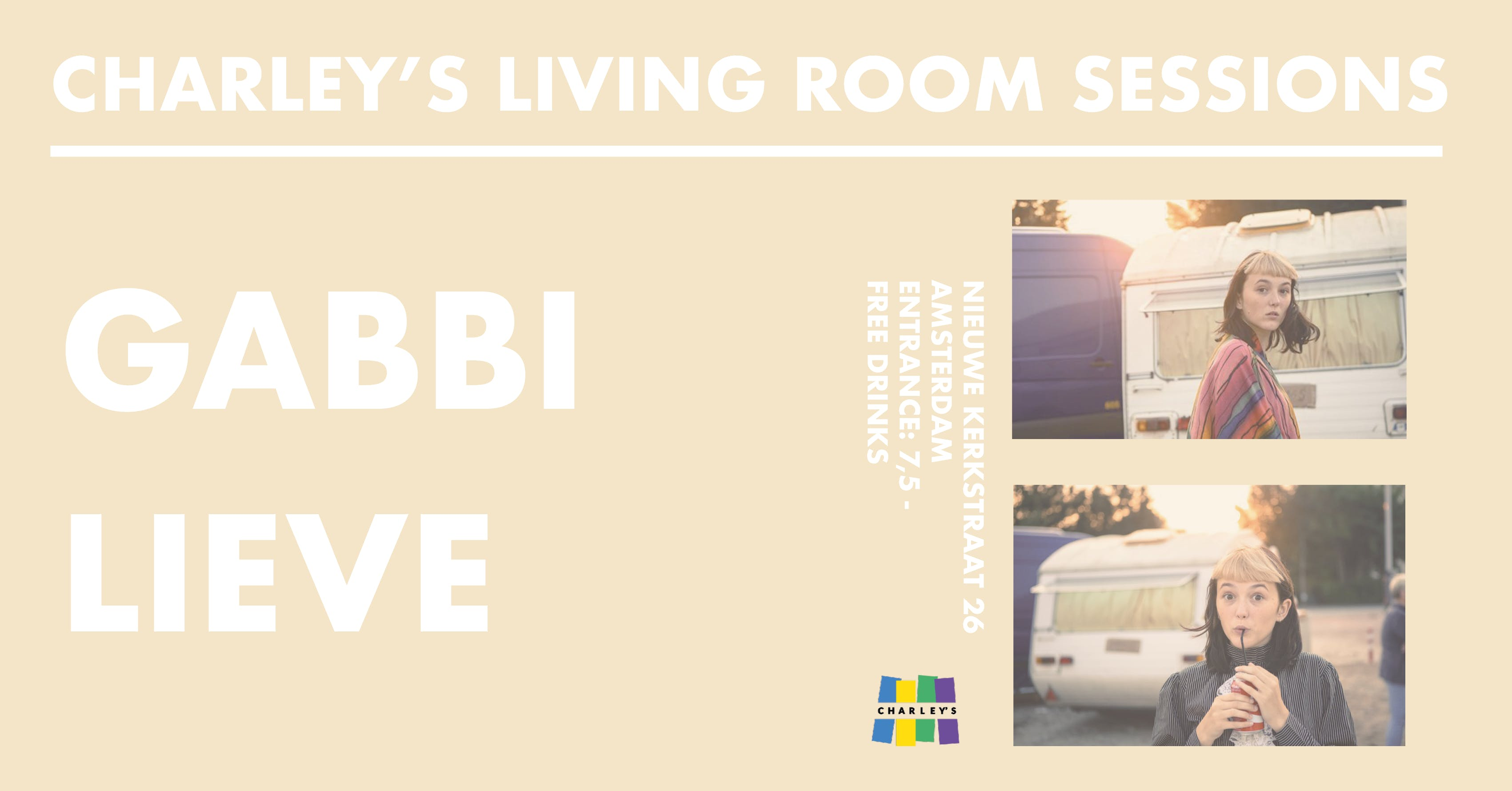 Charley\'s Living Room Sessions: GABBI LIEVE - 8 SEP 2018