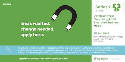 Social Enterprise Business Canvas Session Series [East Cohort]