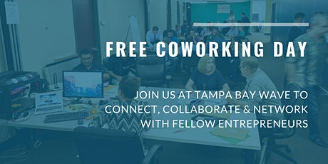 FREE Coworking Day at Tampa Bay Wave tickets