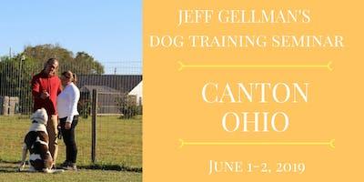 Canton, Ohio - Jeff Gellman's Two Day Dog Training Seminar