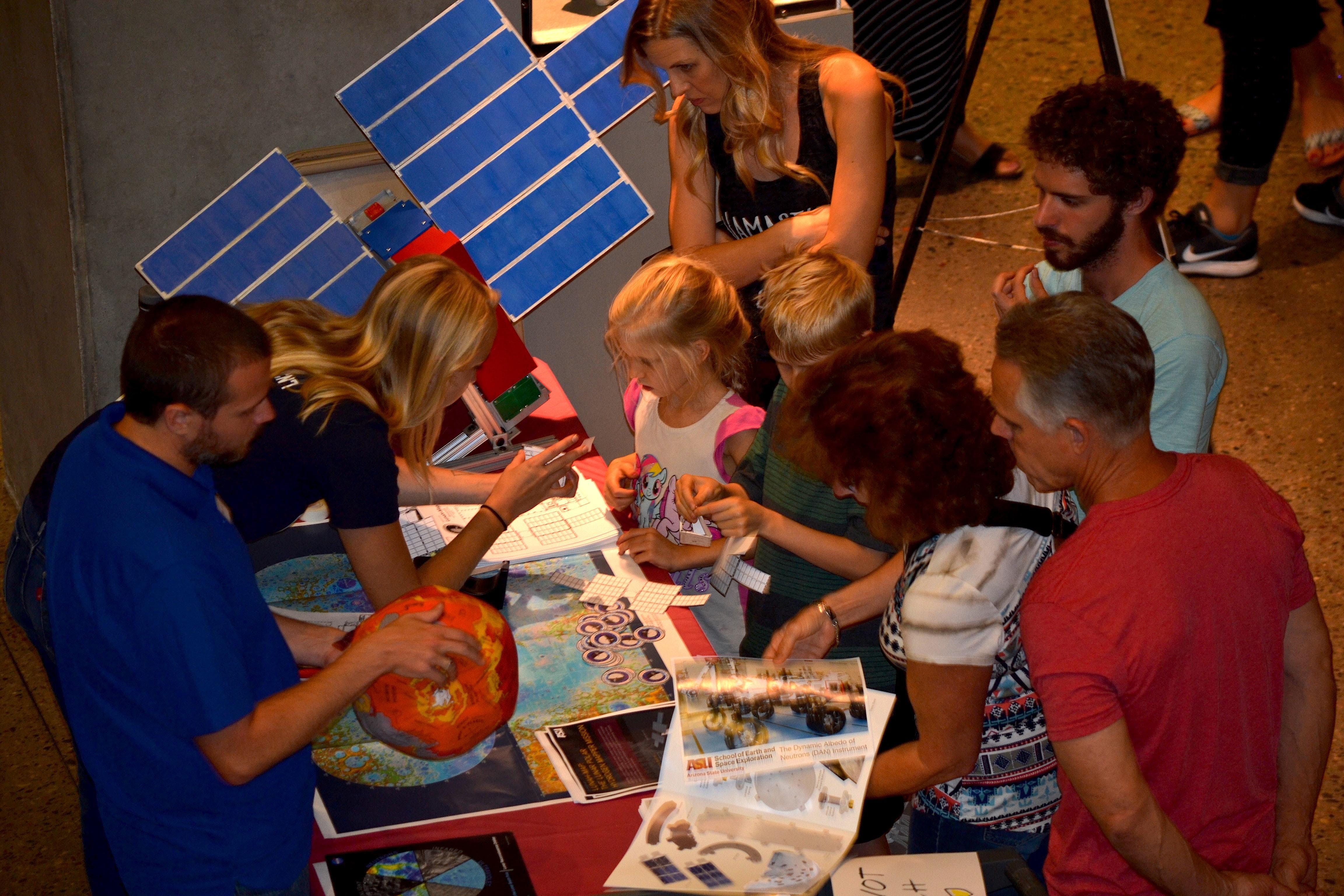 Earth and Space Open House: Adventures in Field Science