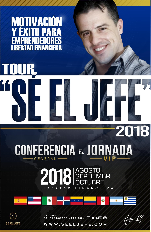 Tour SE EL JEFE 2018