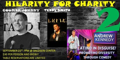 Wilcoxson Fathers Club- Hilarity for Charity 2! Parents Night Out!! 3 Headliners!!