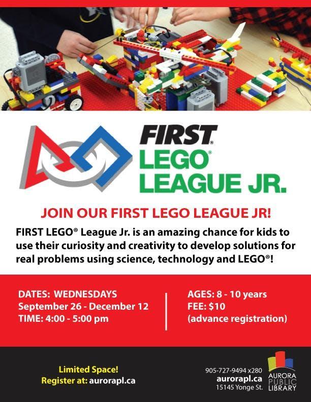 FIRST® LEGO® League Jr - Fall 2018