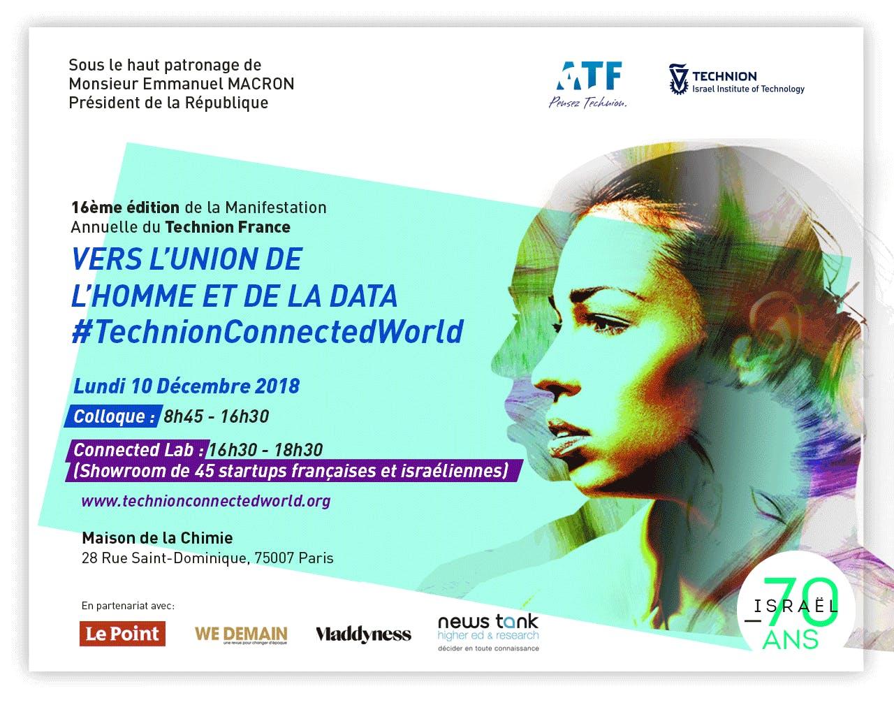 #TechnionConnectedWorld, Vers l'Union de l'Ho