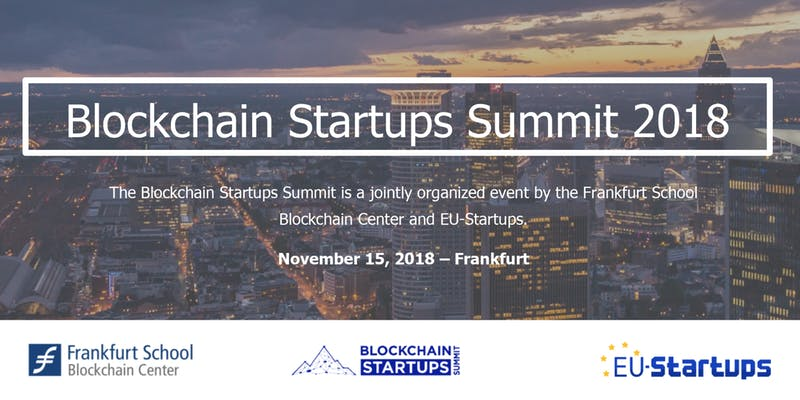 Blockchain Startups Summit 2018