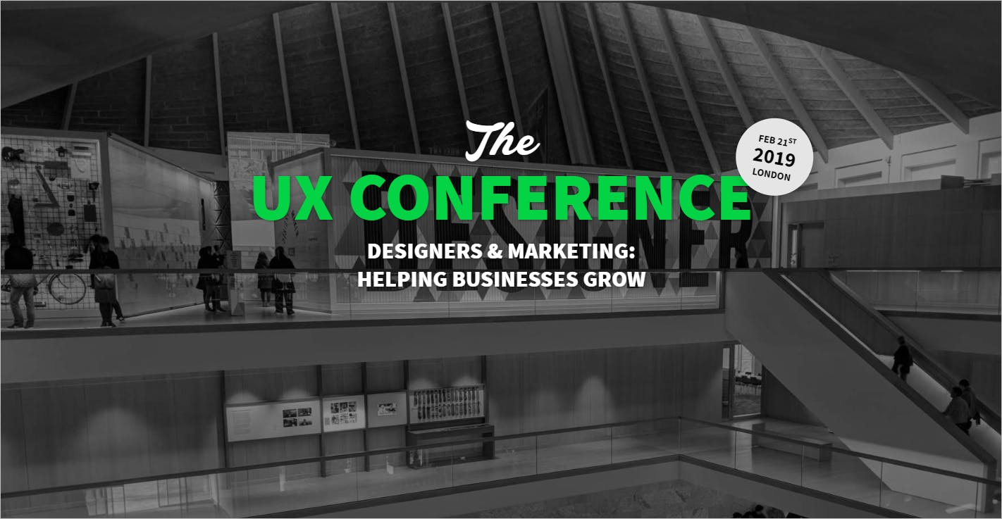 The UX Conference in February 2019 in London
