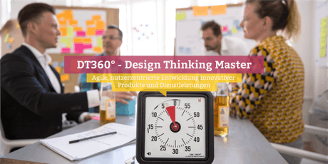 DT360° - Certified Design Thinking Master, Berlin Tickets