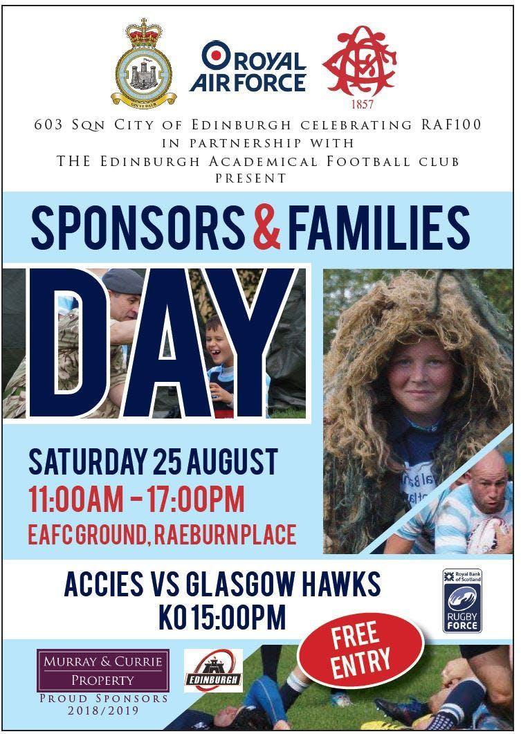 Edinburgh Accies & 603 Sqn City of Edinburgh