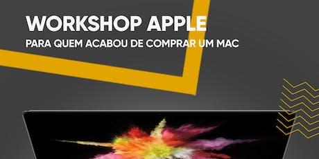 Workshop Apple Mac ( Fnac Madeira ) bilhetes