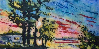 Watercolor Batik Workshop by Carole Nielsen