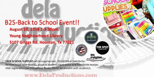 Houston, TX Back To School Houston Events | Eventbrite