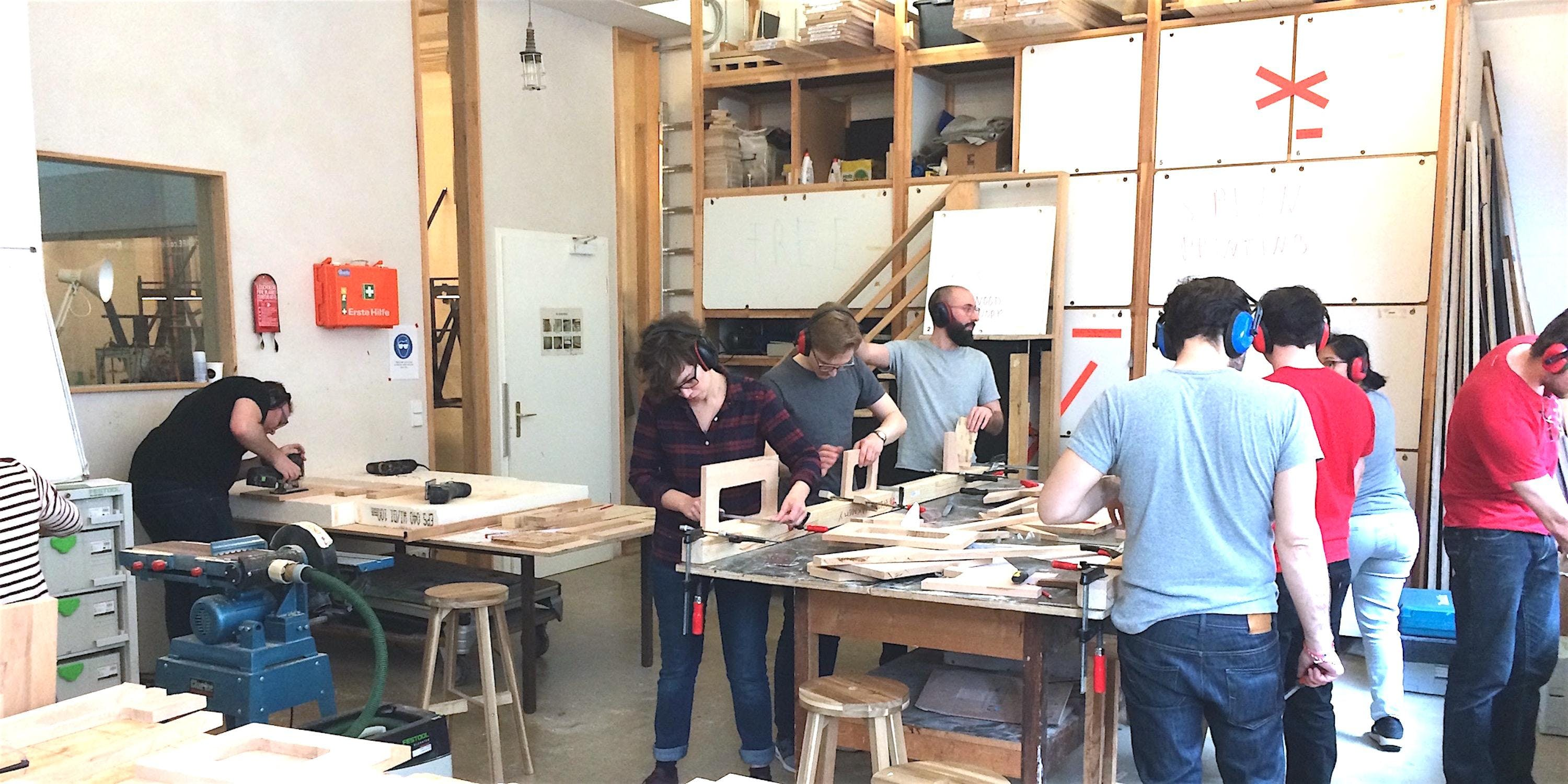 Working with Wood - A Beginners' Workshop