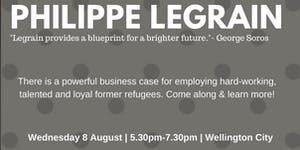 Philippe Legrain: How can hiring refugees benefit...
