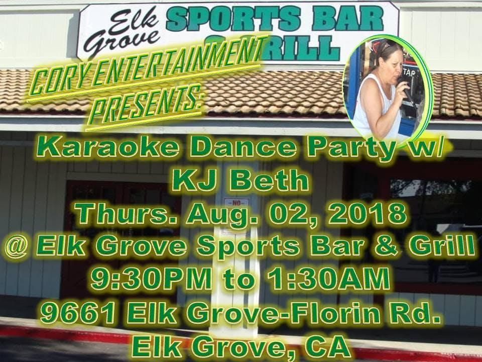 KJ Beth\'s Karaoke Dance Party @ Elk Grove Sports Bar & Grill (08/02 ...