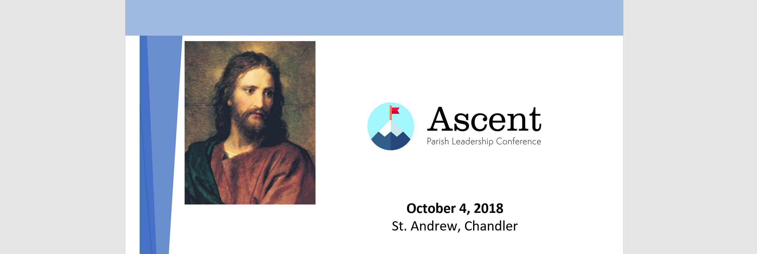 2018 Ascent Leadership Conference - St. Andrew the Apostle