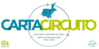 Carta Circuito 2018 - OPENDAY in Cartiera [2 MLN di Ton riciclate]