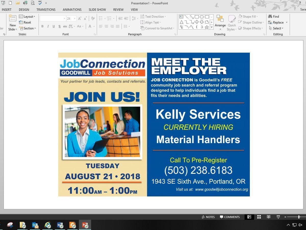 Meet the Employer Event - Portland - 8/21/18