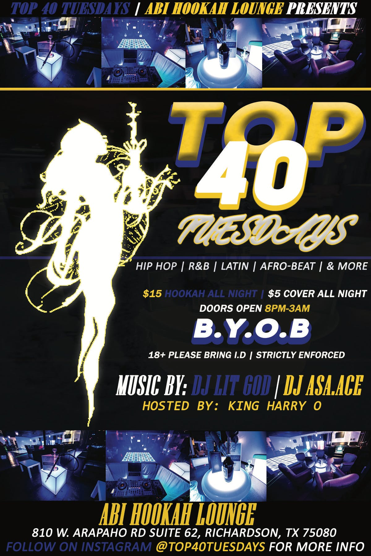 TOP40 TUESDAYS -FREE TICKET-