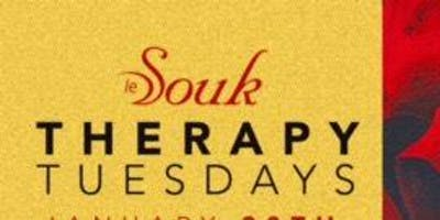 Therapy Tuesdays @ Le Souk