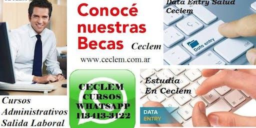 Curso Mecanografía Veloz + Escribientes Profesional + Data Entry Beca