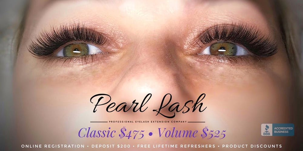 Eyelash Extension Training Hosted By Pearl Lash Miami October 2018