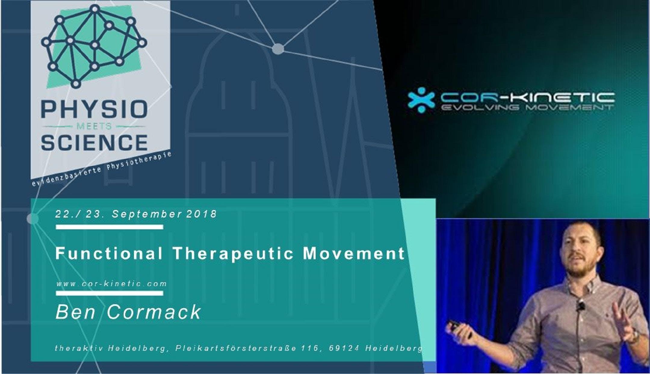 BEN CORMACK: Functional Therapeutic Movement