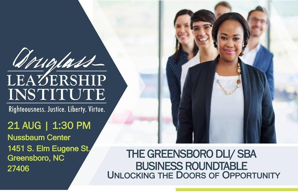 Greensboro DLI and SBA Business Roundtable