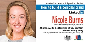 Australian Alumni Speaker Series: Nicole Burns - How...