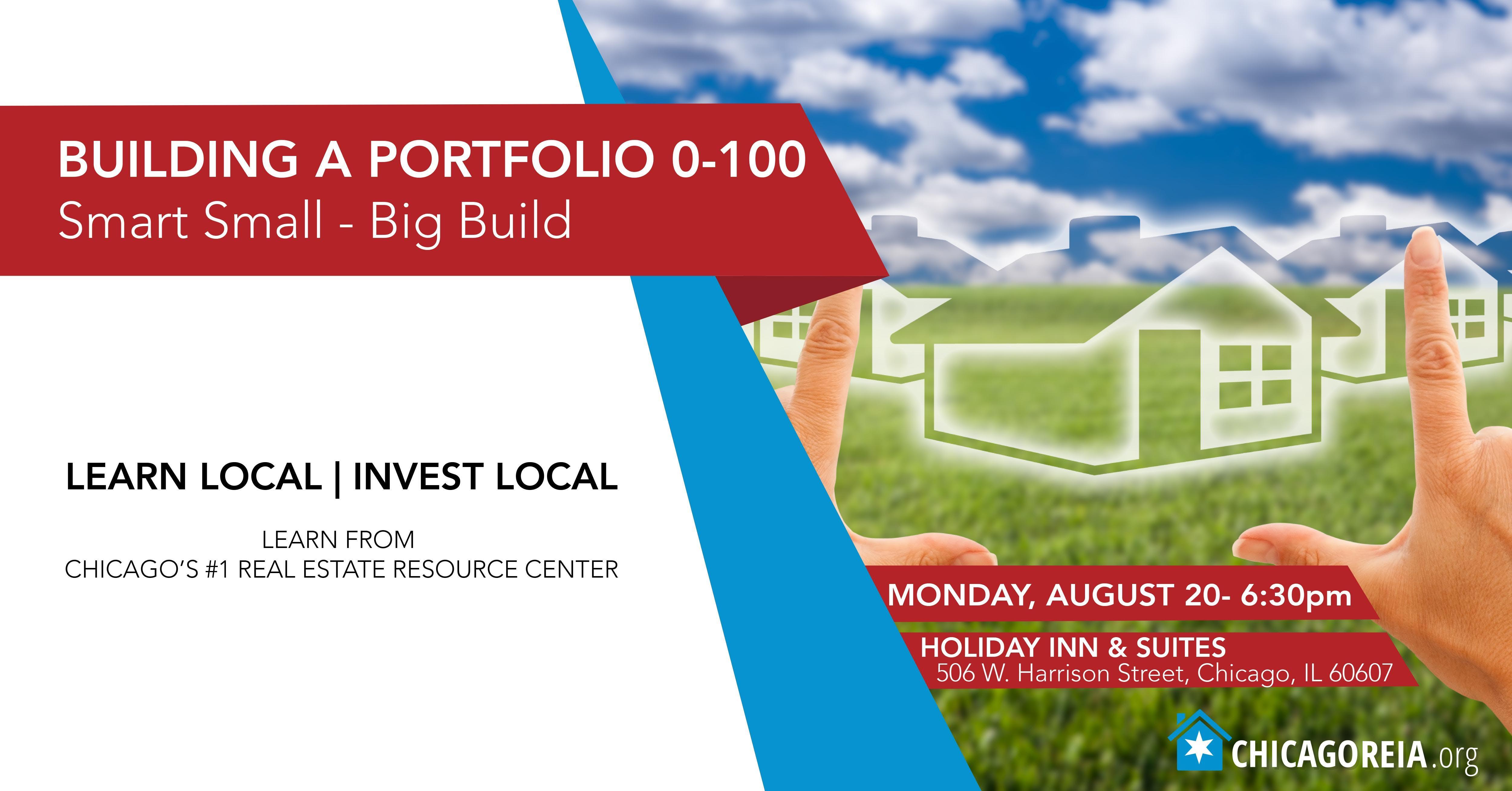 Building a Portfolio 0-100: Start Small Grow