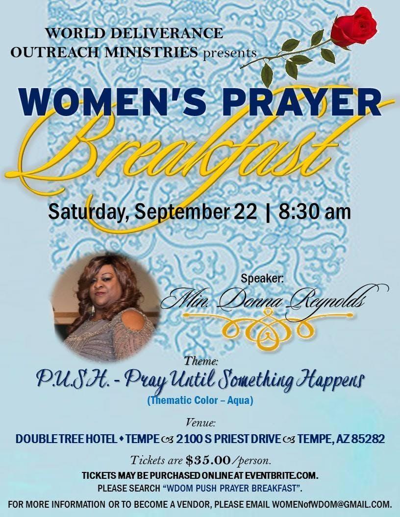 WDOM P.U.S.H. Prayer Breakfast
