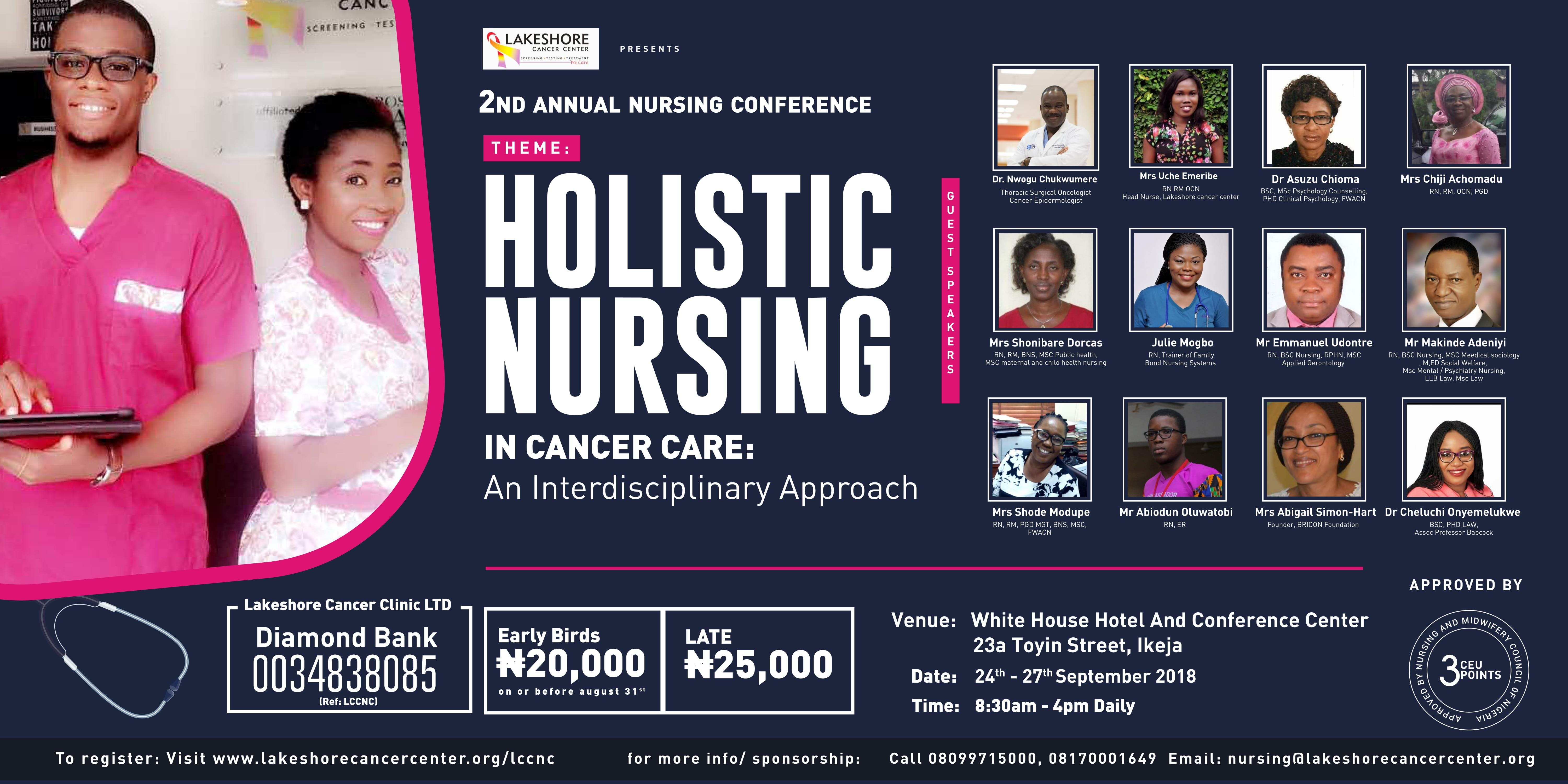 SECOND ANNUAL NURSING CONFERENCE - PAID