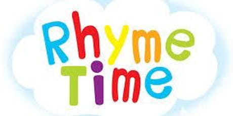 Rhyme Time @ Hale End Library tickets