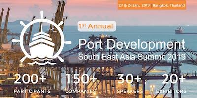 Port Development South East Asia Summit 2019