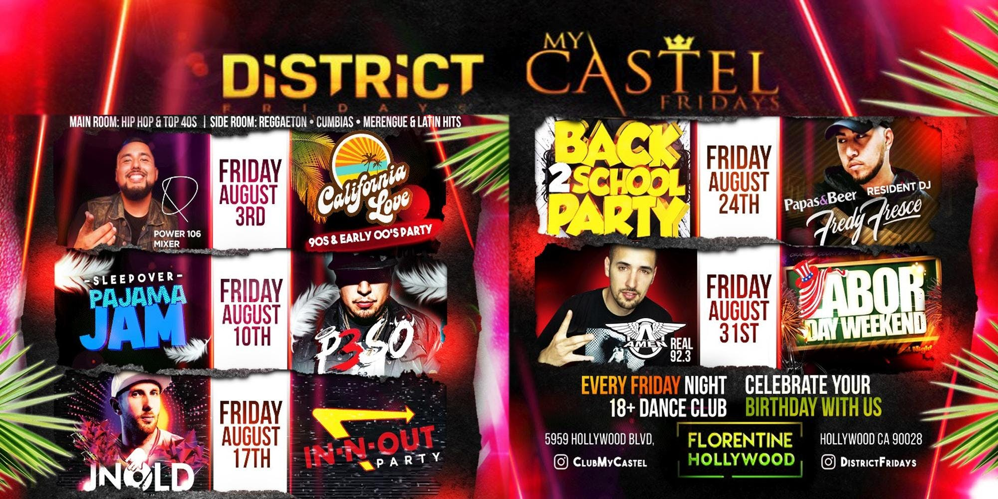District Fridays: Labor Day Weekend with Real