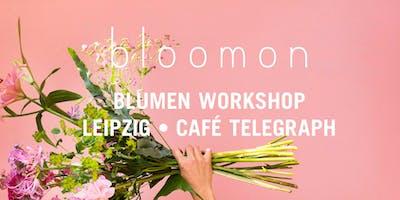 bloomon Workshop 19. September  Leipzig, Café Telegraph