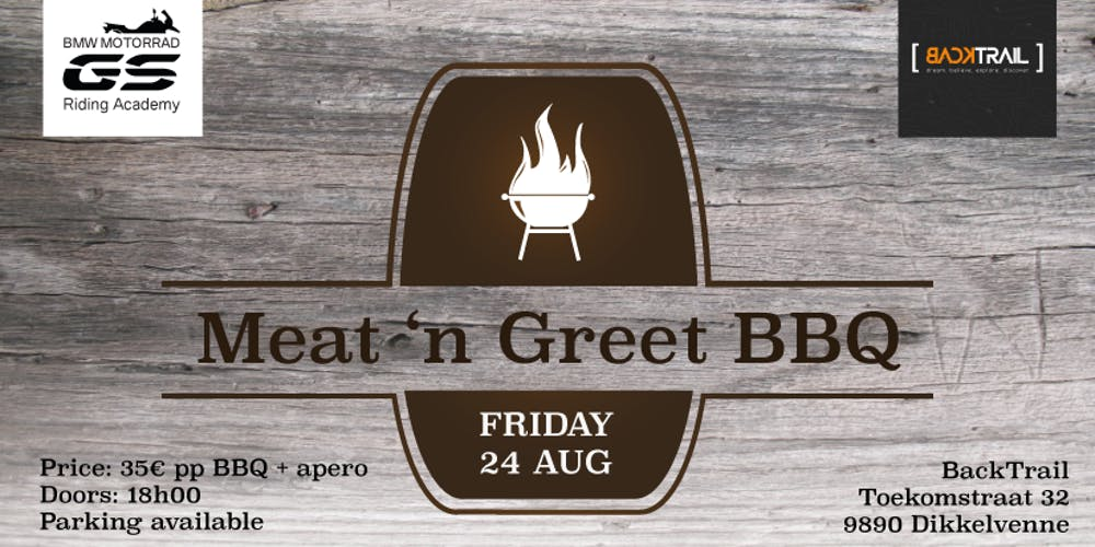 Backtrail bmw gs riding academy meat n greet bbq tickets fri backtrail bmw gs riding academy meat n greet bbq tickets fri aug 24 2018 at 630 pm eventbrite m4hsunfo