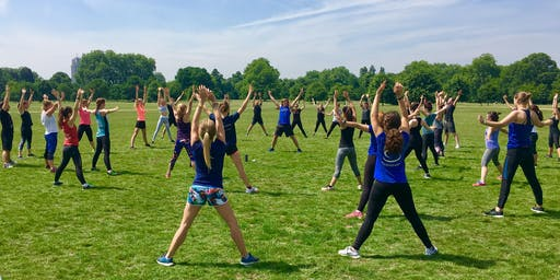 Amazing FREE OUTDOOR Fitness Class by Swedish Fit®!