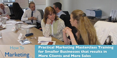 Effective Marketing Masterclass tickets