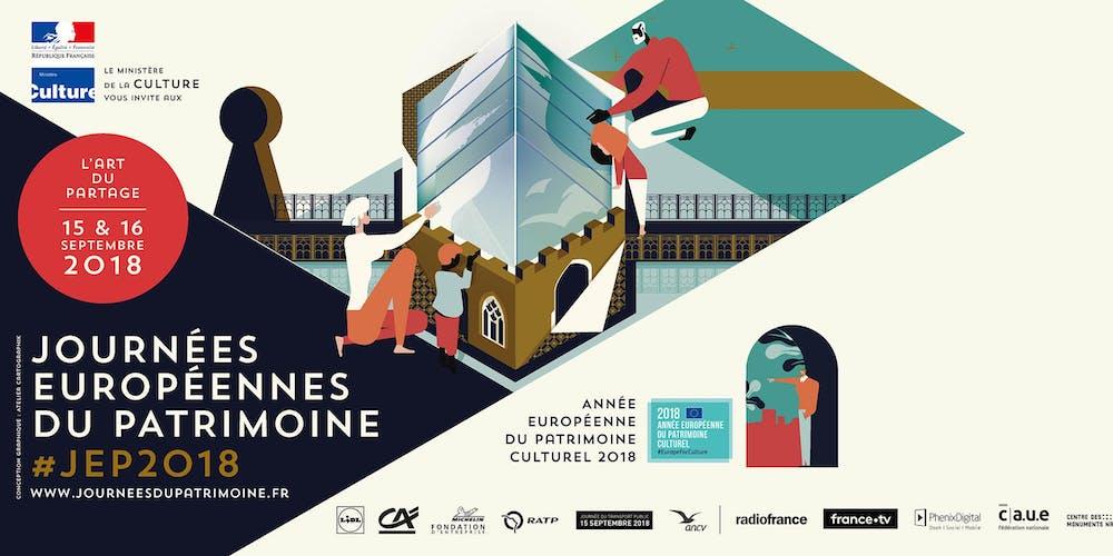 """Résultat de recherche d'images pour """"journées du patrimoine 2018 france"""""""