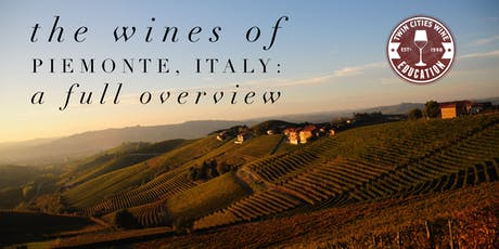 The Wines of Piemonte, Italy - A Full Overview (including Barolo!) tickets