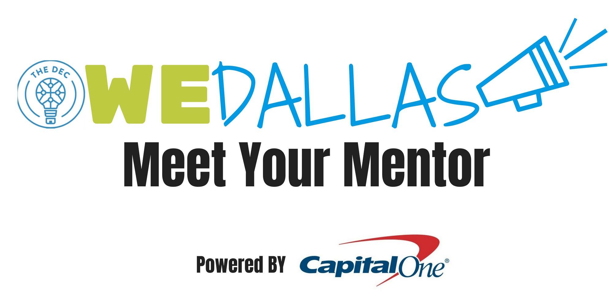 WEDallas : Meet Your Mentor