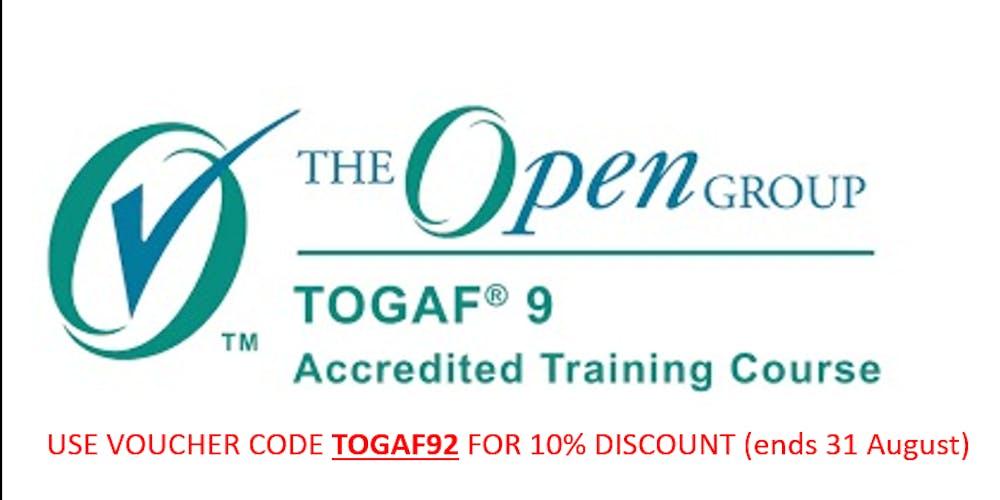Togaf 9 Certification Live Online Tickets Mon 17 Sep 2018 At 08